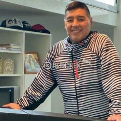 Diego Maradona realiza ejercicio físico y se lo ve en buen estado de salud. El DT de Gimnasia quiere volver pronto a las prácticas con el plantel. // Instagram Maradona