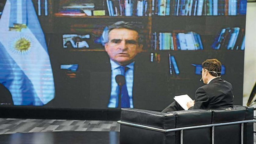 Entrevista a Agustín Rossi.