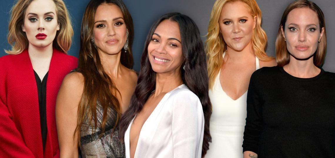 De Adele a Angelina Jolie: 12 celebrities que hablaron con crudeza de la lactancia