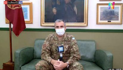 El director del Hospital Militar, Sergio Maldonado, en diálogo con REPERFILAR.
