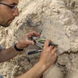 El arqueólogo Voav Vaknin fue uno de los responsables del histórico y esperanzador hallazgo.