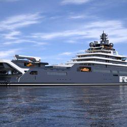 El REV Ocean tiene capacidad para 54 científicos y 36 tripulantes más.