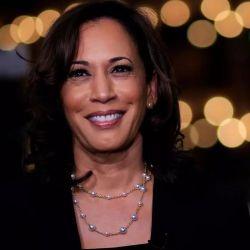 Desde 2017 es senadora por California y hasta hace poco luchaba por su propia precandidatura presidencial.
