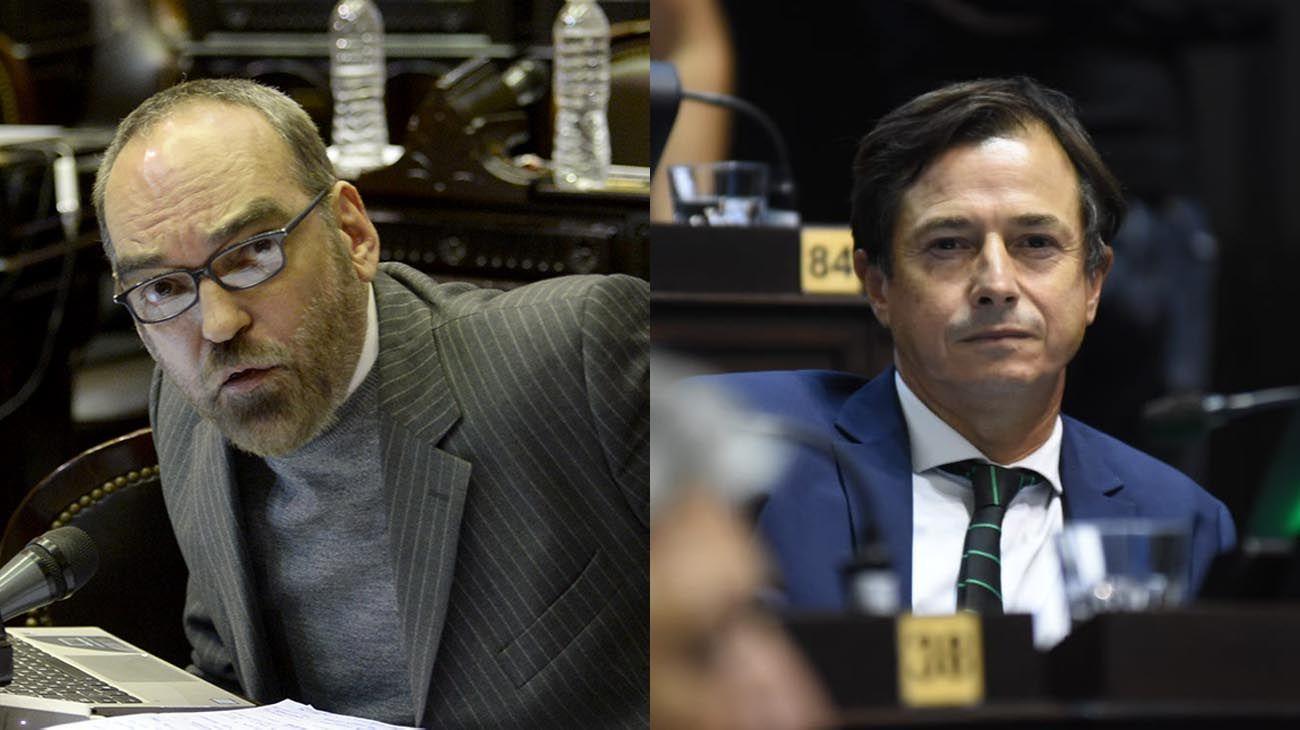 Fernando Iglesias y Daniel Lipovetzky
