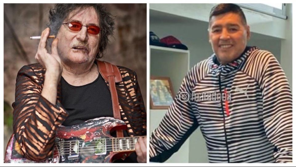 La emotiva carta de puño y letra de Charly García a Diego Maradona