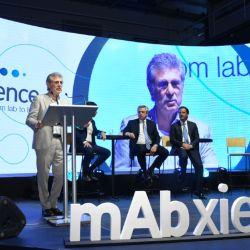 El presidente Alberto Fernández recorrió las instalaciones de la nueva sede de Garín.