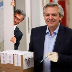 Alberto Fernández - Mauricio Macri | Foto:Montaje