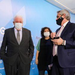 Argentina producirá la vacuna de Oxford/AstraZeneca. | Foto:Cedoc.