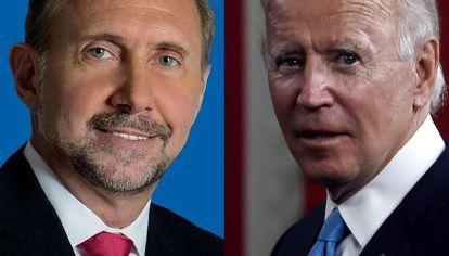 Joe Biden y Omar Perotti