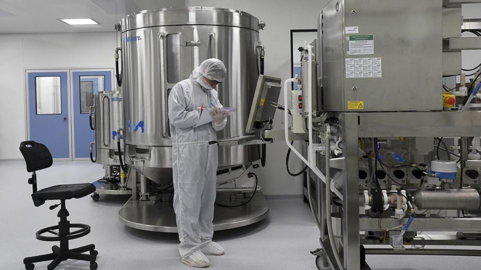 vacuna laboratorio AstraZeneca