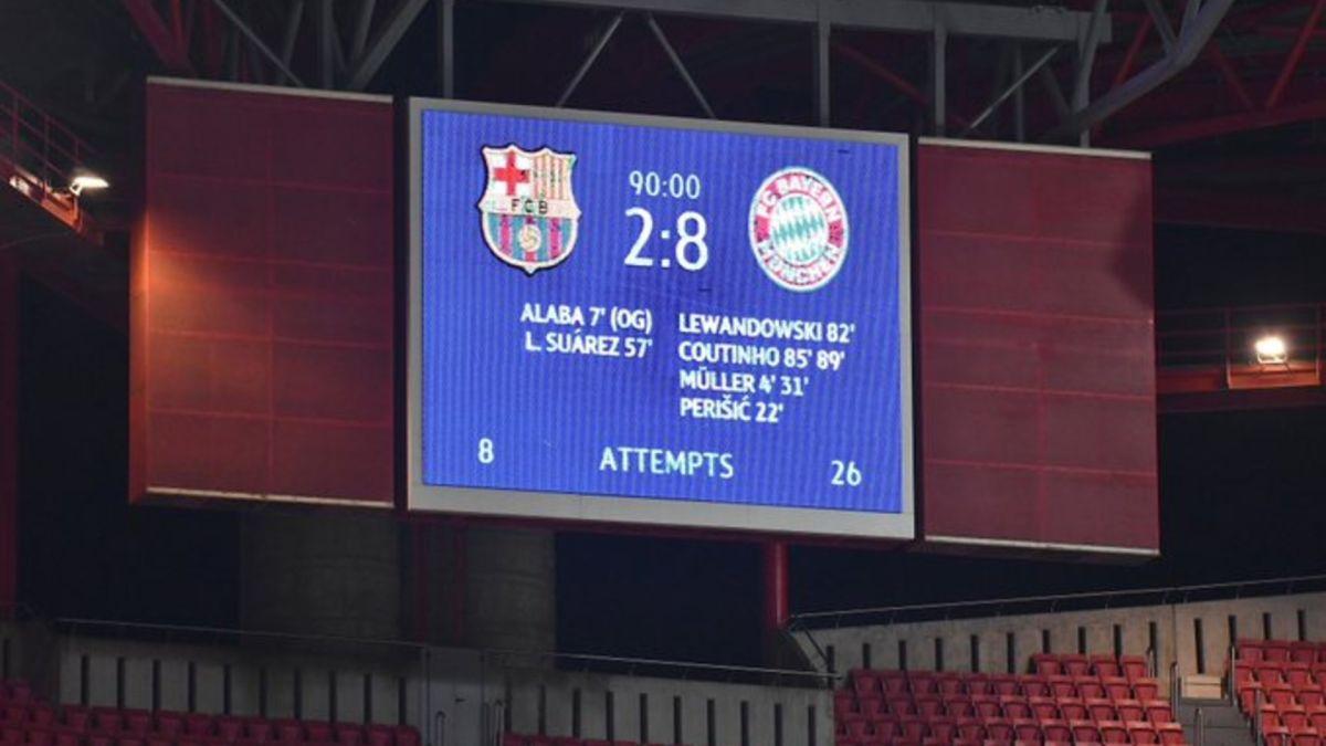 442 | Tras la humillación del Bayern Munich al Barcelona, aparecieron los memes