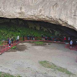 Gruta de Inti Huasi, uno de los hitos de la arqueología argentina.