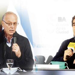 Daniel Gollán (PBA) - Fernán Quirós (CABA) | Foto:cedoc