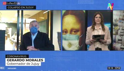 """Gerardo Morales: """"Tuvimos 3mil casos en un mes y medio"""""""