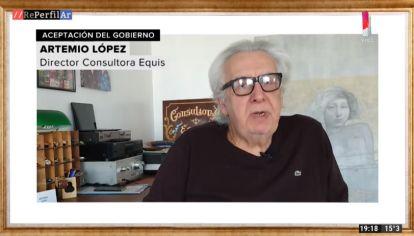 Columna Artemio López, para REPERFILAR