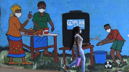 Fotogaleria Kenia Mural Coronavirus