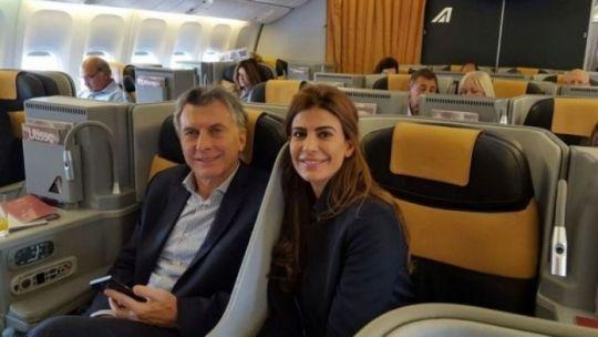 Mauricio Macri y Juliana Awada rumbo a Paris