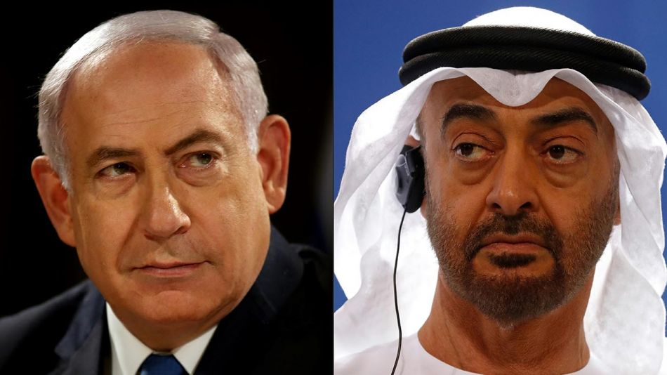 Benyamin Netanyahu,Mohame bin Zayed