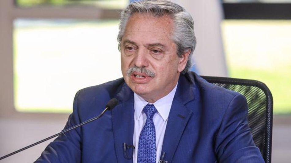 El presidente Alberto Fernández anuncia una nueva etapa del aislamiento social 20200814
