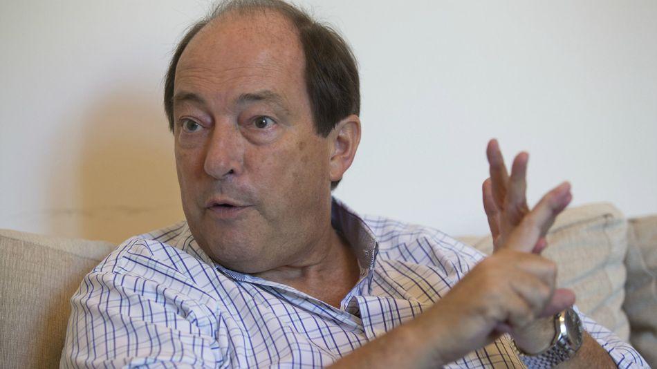 Ernesto Sanz, referente del radicalismo.
