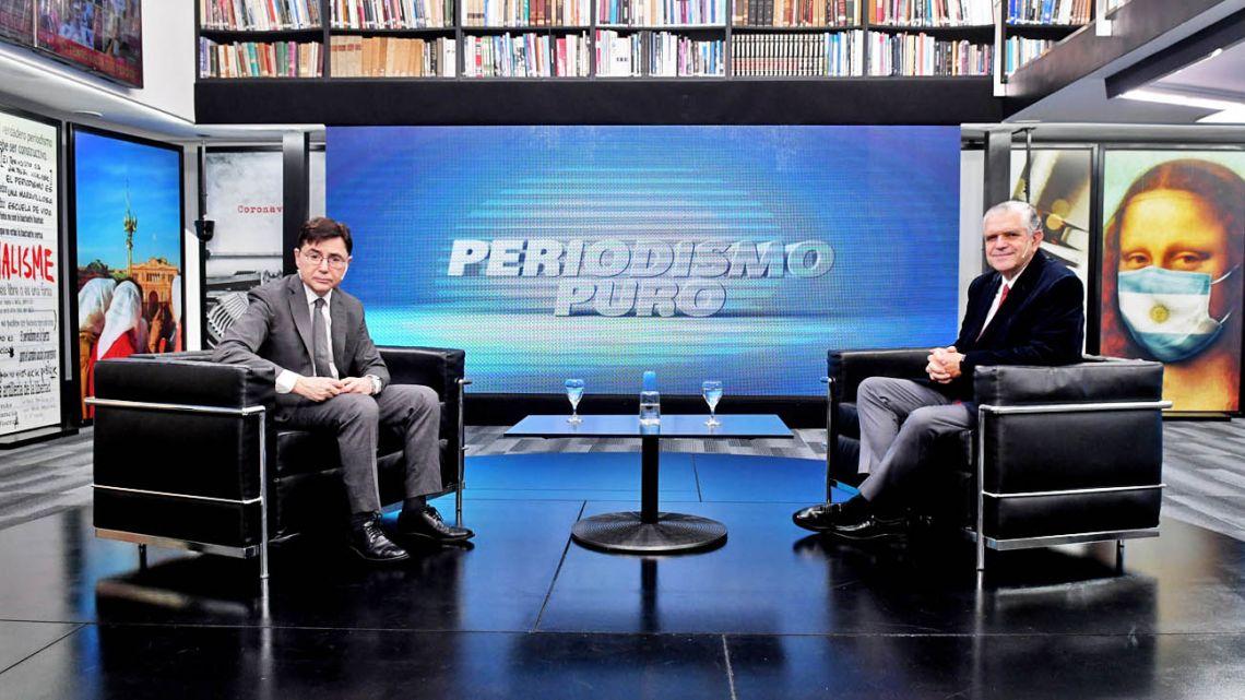Lopez Murphy interviewed by Jorge Fontevecchia.