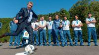 Macri FIFA pelota Fundación