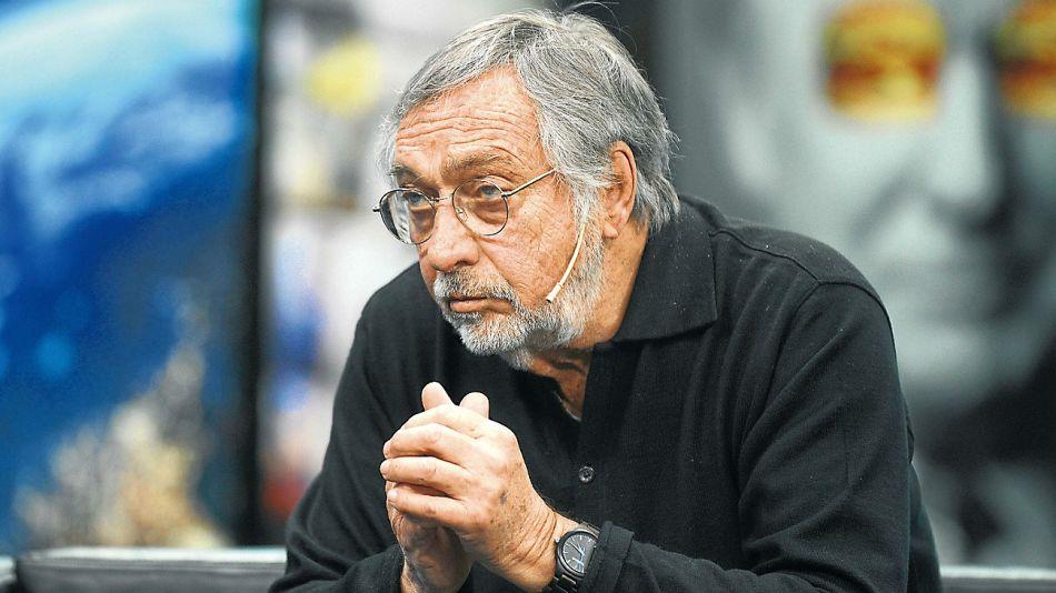 Luis Brandoni, en la entrevista con Jorge Fontevecchia.