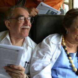Gabriel García Márquez y Mercedes Barcha   Foto:Telam