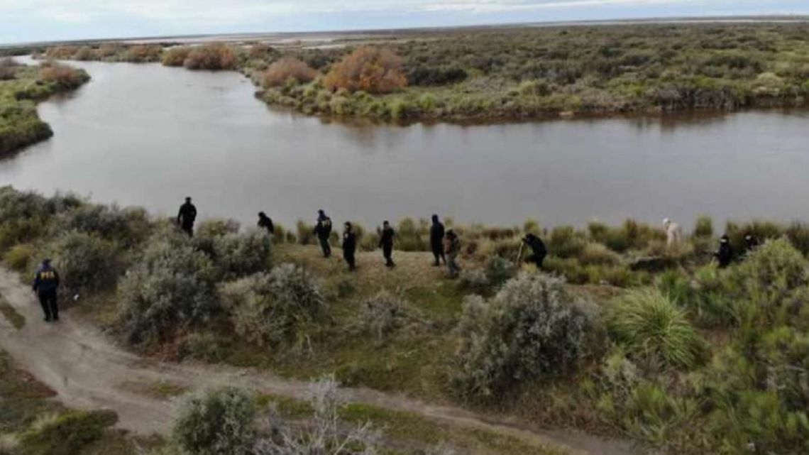 Part of the area that was initially searched by federal police officers during the search for Facundo Astudillo Castro.