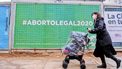 Campaña. A dos años de tratarse en el Congreso de la ley de aborto, se realizaron marchas virtuales.