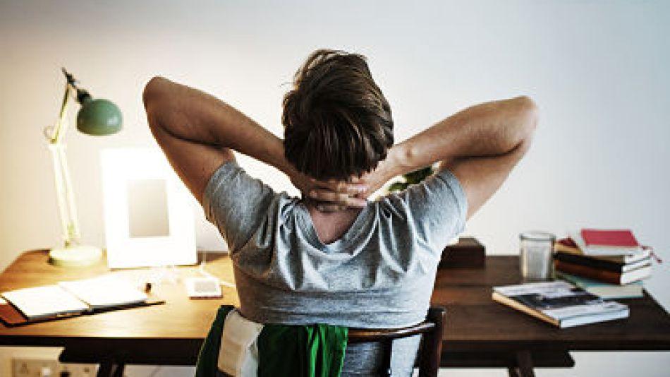 Recomendaciones postura corporal teletrabajo