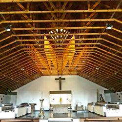 La Abadía Nuestra Señora de Luján está en Jáuregui es de normas estrictas. Foto Télam/Miguel Cabrera.