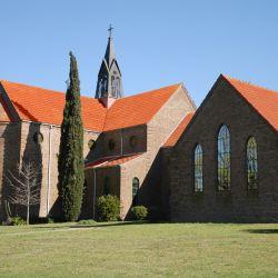 Monasterio trapense Nuestra Señora de los Ángeles, a 50 kilómetros de Azul.
