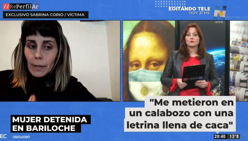 Sabrina Corio, en diálogo con Reperfilar