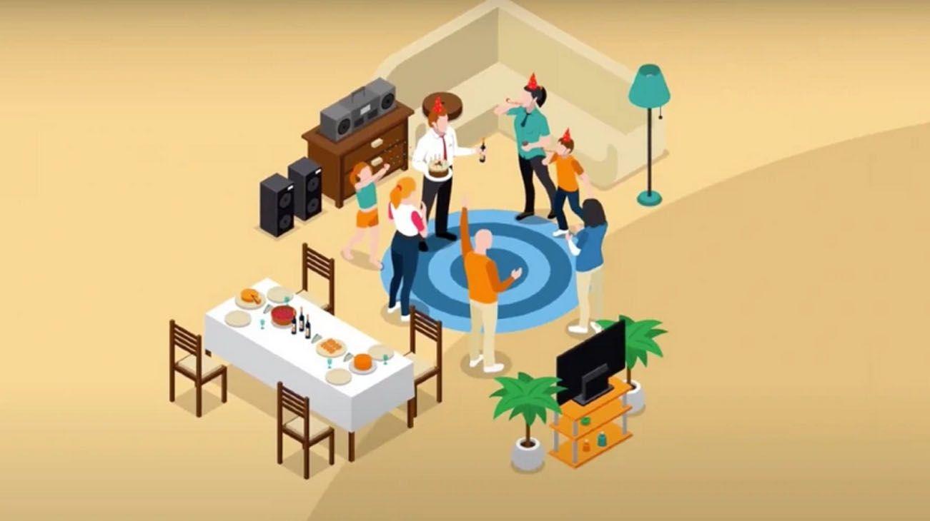Los encuentros familiares pueden convertirse en una trampa mortal para sus participantes.