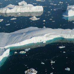 La velocidad con la que se recupera el hielo no es la misma con la que se está derritiendo.