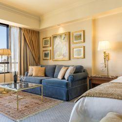 Diez de las suites de Park Tower cambiaron el living por un gimnasio muy bien equipado y se pueden reservar por día o noche.