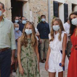 La familia real española en Mallorca | Foto:Cedoc.