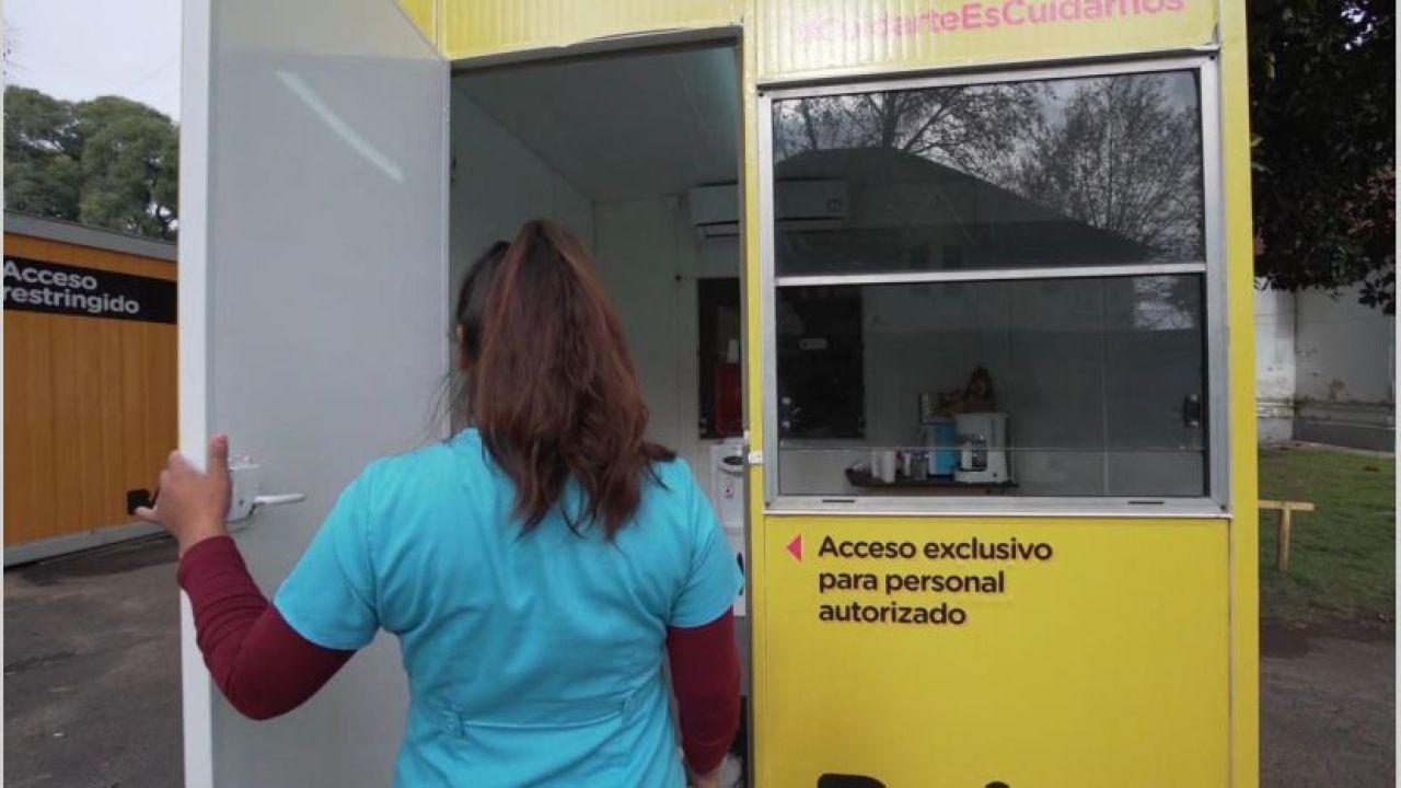Los contenedores de descanso de ATMA. | Foto:cedoc
