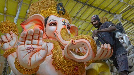 Fotogaleria India Festival Hindu
