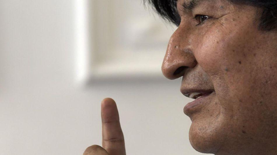 Evo Morales 20200818