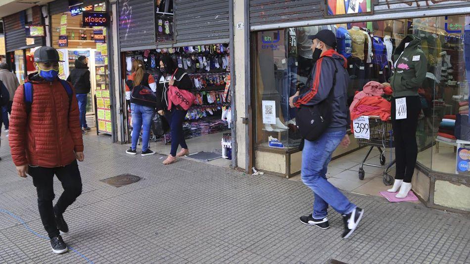 Barrio Once en cuarentena 20200818