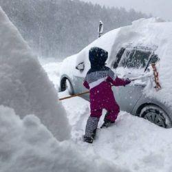 Servicios meteorológicos de tres países anuncian la posibilidad de nevadas en Argentina, Brasil y Uruguay.