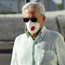 Vargas Llosa en Madrid | Foto:Francisco Guerra/Europa Press