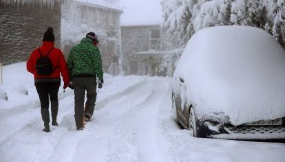 Se esperan nevadas en tres países
