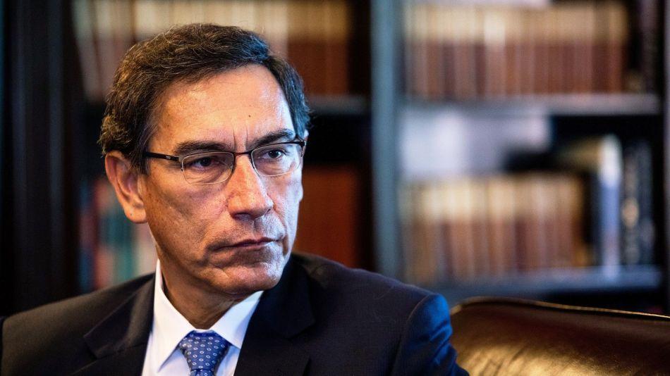 Peru's President Martin Vizcarra Interview