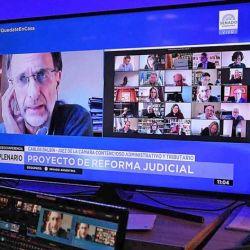 Reforma judicial en el Senado.