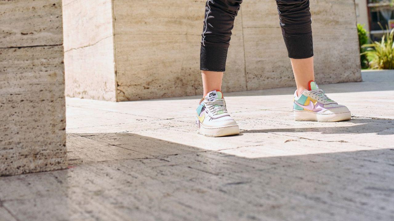 Preguntarse aceleración Larva del moscardón  Marie Claire   Las zapatillas color pastel son tendencia total y así lo  demuestra Nike