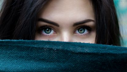 Belleza ojos y mirada