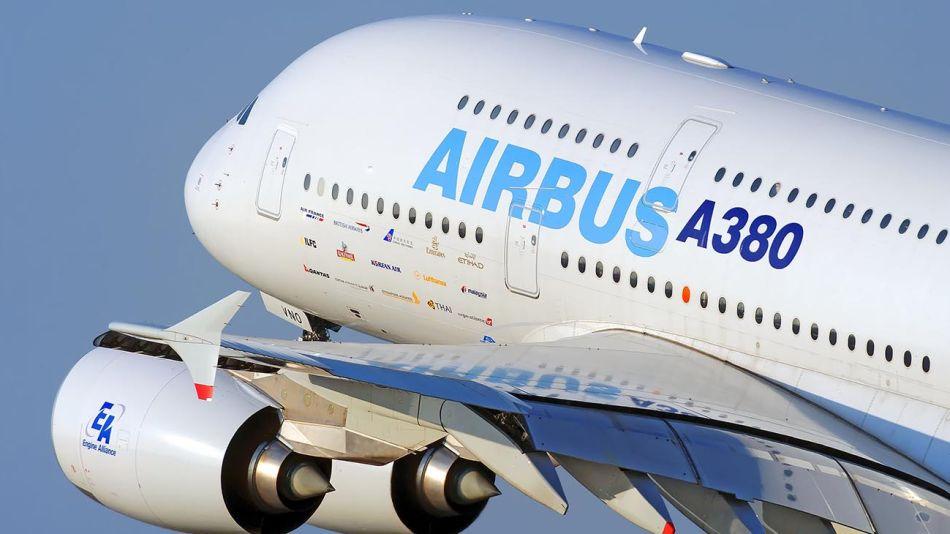 Airbus 380 . 20200820